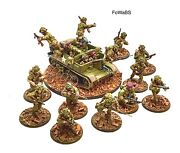 Bolt Action 28mm British Airborne Andldquo Incoming Andldquo - Painted By Fowabs.