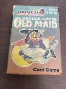 Vintage 1984 Russell No 7010 Mother Hoose Old Maid Card Game Complete