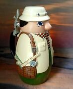 Schultz And Dooley Ron Lager Fisherman Beer Stein Mug Webco For Fx Matt Brewing Co