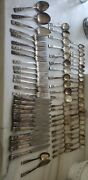 75 Coronation Community Oneida Silverplate 1939 Forks Knives Spoons Serving Lot