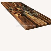 Clear Resin Acacia Wood Conference Meeting Table Tops Art Wedding Gifts Dandeacutecors