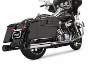Bassani 4 Dnt Straight Can Muffler With Black End Cap 1f72dnt5