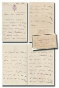 Leopold Ii. King 1835-1909/ Congo - Rare Autograph Letter Signed