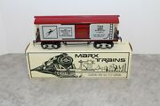 Modern Marx O-gauge 7261 Incorporated Car New In Box