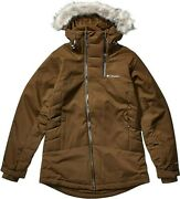 New W/o Tags Womenand039s Columbia Emerald Lake Insulated Parka Jacket Size L Olive