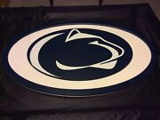 Penn State Nittany Lions Huge Logo Wall Hanging - 46x30andrdquo 16lbs.