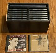 Frank Sinatra The Columbia Years-complete Set Of 12 Cds W/ Rack And Book+ 2 Extras
