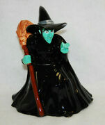 Wizard Of Oz Wicked Witch Of The West Cookie Jar Warner Bros In Box Rare M4820
