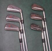 Vintage Taylormade Td Tour Preferred Irons 5-pw Rh Steel Shaft Golf Clubs