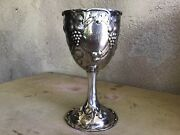 Antique Colonial Silver Chalice