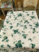 Waverly English Ivy  Polished Cotton Fabric  7 Yards X 56 Excellent