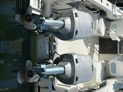 Twin 1985 Evinrude 150 Hp Outboard Boat Motor Engine 25 Johnson With Controls