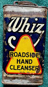 Vintage Whiz Roadside Hand Cleanser Empty 12 Ounce Can