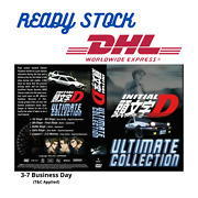 Anime Dvd Initial D Ultimate Collection English Dubbed And Japanese Audio Dhl Ship