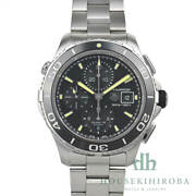 Tag Heuer Watch Menand039s Aquaracer Chronograph Automatic Stainless Steel Black