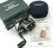 Daiwa Steez 100h Right Bait Casting Reel In Box Excellent+++ From Japan【dhl】