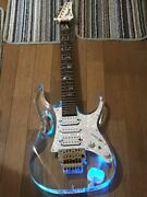 ibanez Jem Type Cn427 Blue Light 6 Strings Electric Guitar Shipped From Japan