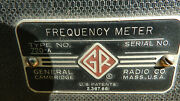 Rare Vintage General Radio Frequency Meter. Type No. 720-a.