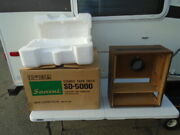 For Sansui Sd-5000 Reel To Reel Complete Cabinet With Rear Cover And Feet Used