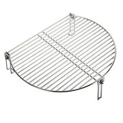 Grill Stack Rack For Big Green Egg Stainless Steel Bbq Lover Gifts Fit Large...