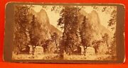 1800's Stereoview Yosemite Valley, Ca. Hutching's House.