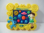 Blues Clues Skidoo N Learn Kids Musical Toy Solar System Planets Sounds No Light