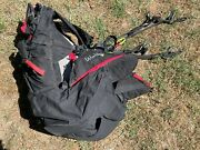 Used Supair Walibi Tandem Harness And Reserve Parachute For Paragliding Pilots