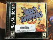 Herc's Adventures For Sony Playstation 1 Ps1 Tested Complete W/ Registration