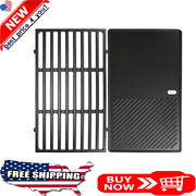 Grill Grate And Griddle 17.5 Replacement For Weber Spirit E210 E220 S210 S220