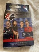 2021 Official Nwsl Trading Cards Premier Edition Hanger Box Womens Soccer New