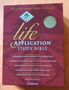 Niv 1984 Life Application Study Bible - Black Bonded Leather - Out Of Prnt 84