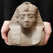 Bc Pharaonic Egyptian Antique Antiques Egypt Antiquities Figurine Statue -y292