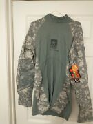 Massif Multicam Military Army Strong Combat Halo Shirt L Flame Resistant New