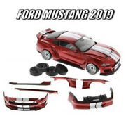 Diecast Masters 1/18 Ford Mustang 2019 Wide Body Kit Rhd New