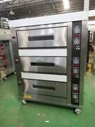 3 Deck Oven Electric With 6 Trays
