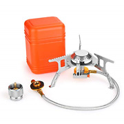 Wadeo 3700w Camping Gas Stove Portable Backpacking Stove With Piezo Ignition