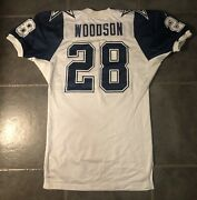 Dallas Cowboys Darren Woodson 1993 Double Star Apex Game Issued Jersey 48 Long