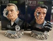 Terminator 2 T800 And T1000 Sideshowandhcg 15th Anniversary Only 500 Wordwide