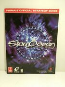 Vntg Star Ocean The Second Story Prima Official Strategy Guide Ps1 1999 Nice