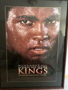 Muhammad Ali Hand Autographed When We Were Kings Framed Movie Poster W/ Psa Coa