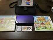 Nntendo 3ds Midnight Purple With 5 Games And Case