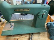 New Home Sewing Machine. Leather And Canvas. Refurbished. 60 Days Guarantee.