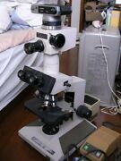 Olympus Bh-2 Binoculars 3 Eyes Microscope 5 Subjects Fast Shipping From Japan