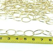 10 Pack Of 10 Feet 100ft Chandelier Chain Brass Finish Décor Max Load 45 Lbs.