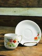 Demitasse Tea Cup And Saucer-made In Occupied Japan