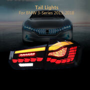 Tail Lights For 2013-2018 Bmw 3-series With 3d Dynamic Animation Turn Signal