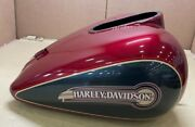 Harley Tank Fuel Fire Red Pearl/ 61360-07cha