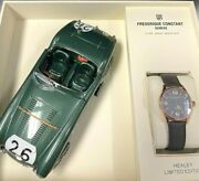 Frederique Constant Vintage Rally Healey Auto Watch Fc-303gbrh5b4 Rgp 40mm