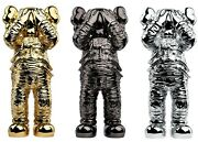 Kaws Holiday Space Figure Gold/black/silver Set Order Confirmed