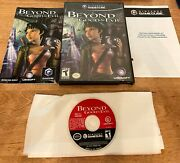 Beyond Good And Evil Nintendo Gamecube 2003 Complete Box + Tested